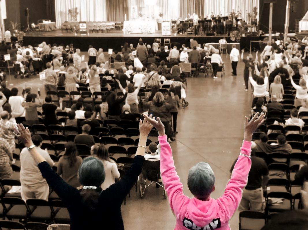 Nhóm CTĐS Anaheim Tham dự Đại Hội Thánh Linh Toàn Quốc SCRC 2015
