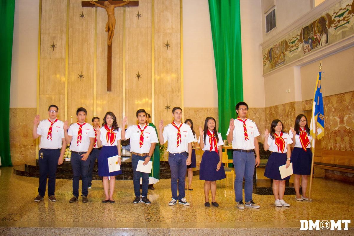 Ban Chấp Hành Mới Đoàn TNTT Tuyên Hứa, 24 Oct 2015