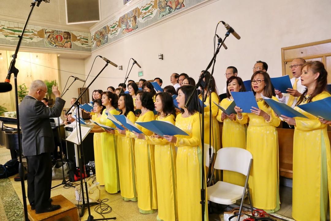 Thánh Lễ Vọng Phục Sinh CĐ Anaheim – Bài Ca Cảm Mến (Ngọc Linh) (#7)