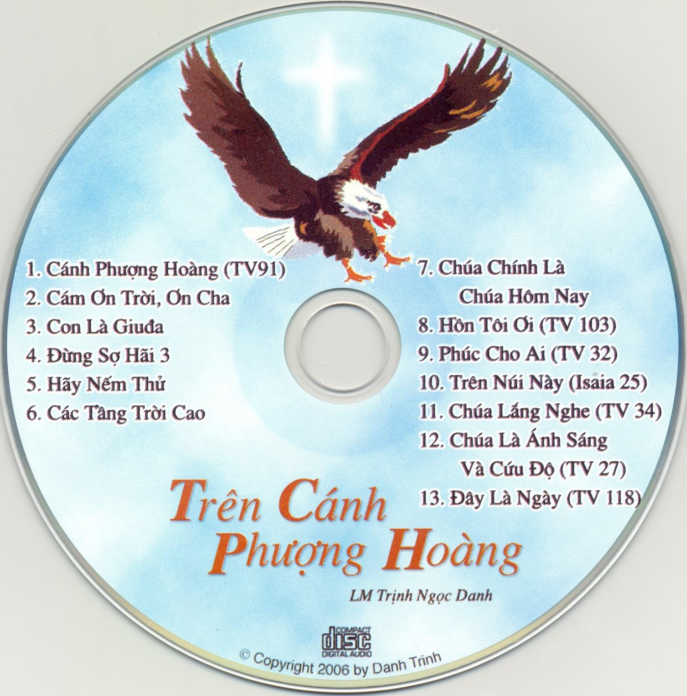 """Tập Nhạc: """"Trên Cánh Phượng Hoàng"""" – LM. Trịnh Ngọc Danh"""