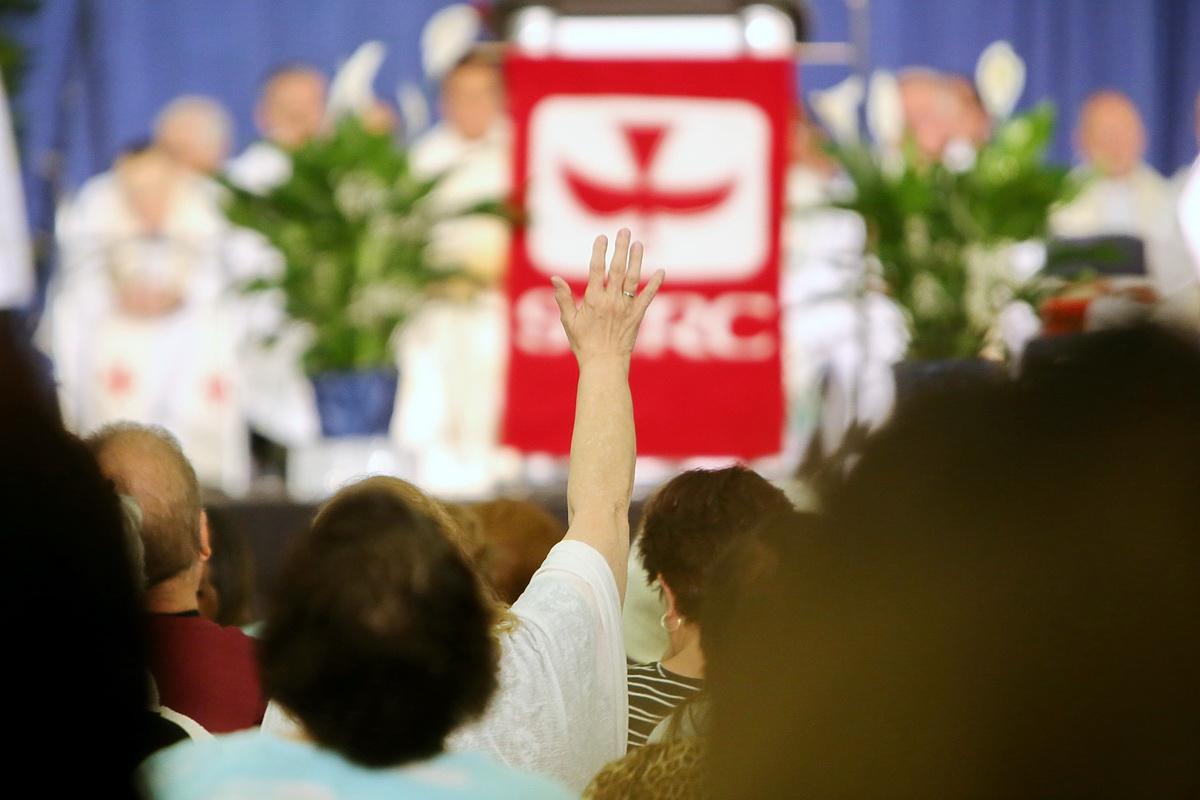 CĐ ANHEIM THAM DỰ ĐẠI HỘI THÁNH LINH CTĐS (SCRC) tại ANAHEIM CONVENTION CTR
