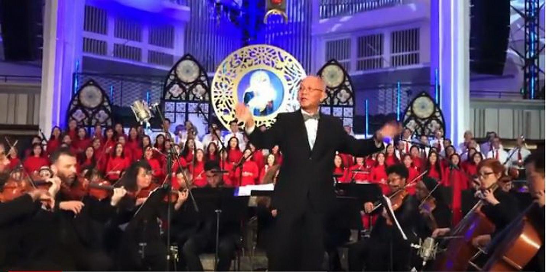 CA ĐOÀN HƯƠNG VIỆT ĐÁNH TIẾNG VANG trong Đại Nhạc Hội Giáng Sinh EMMANUEL 2019, tại CHRIST CATHEDRAL