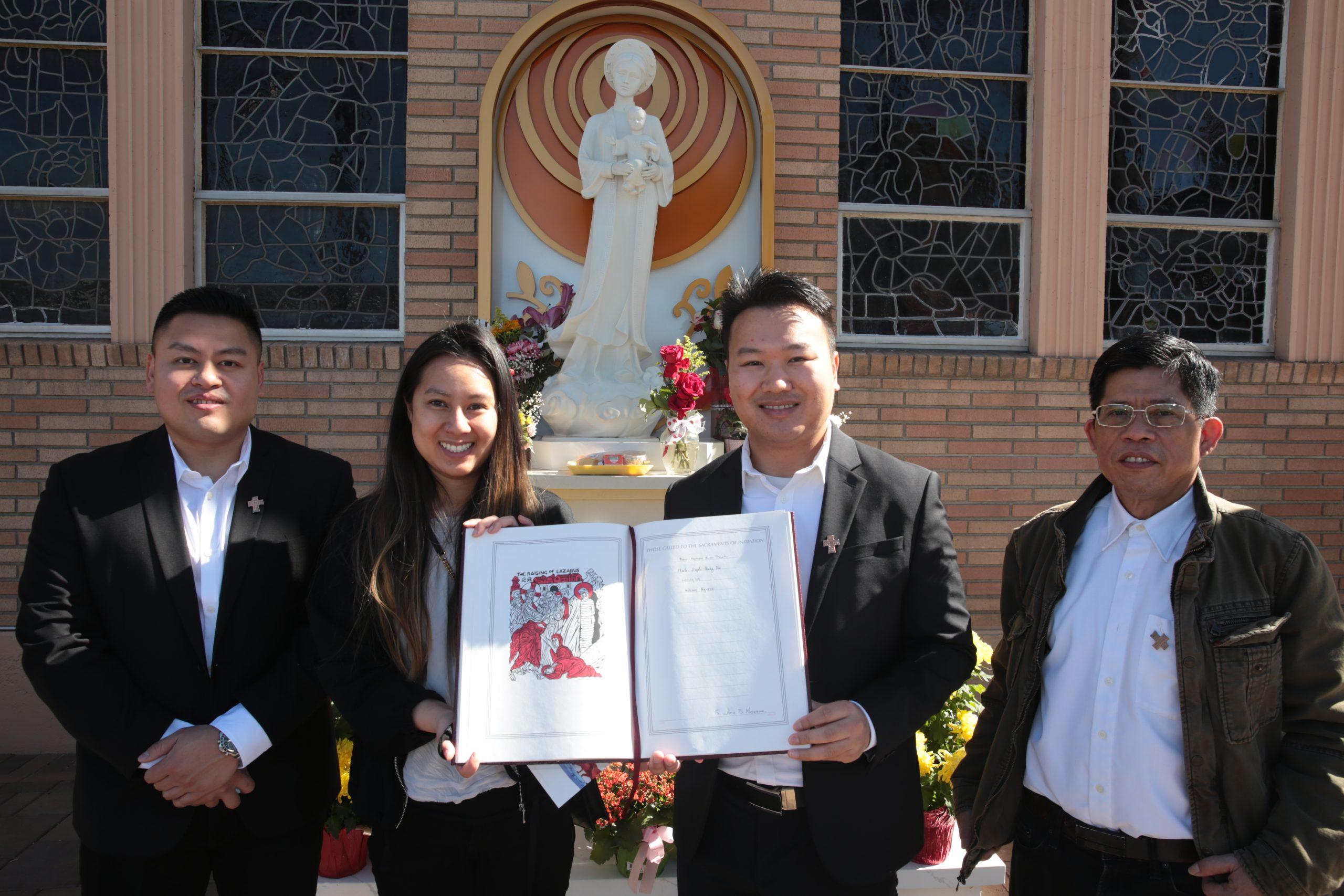 2021 Nghi Thức Tuyển Chọn cho các Tuyển Nhân chuẩn bị Thánh Tẩy.  Rite of Election