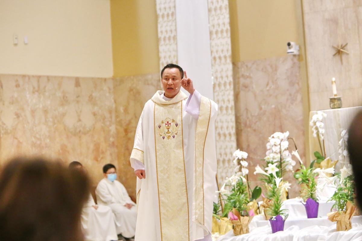 Bài Giảng trong Thánh Lễ Thánh Tẩy, 17 April