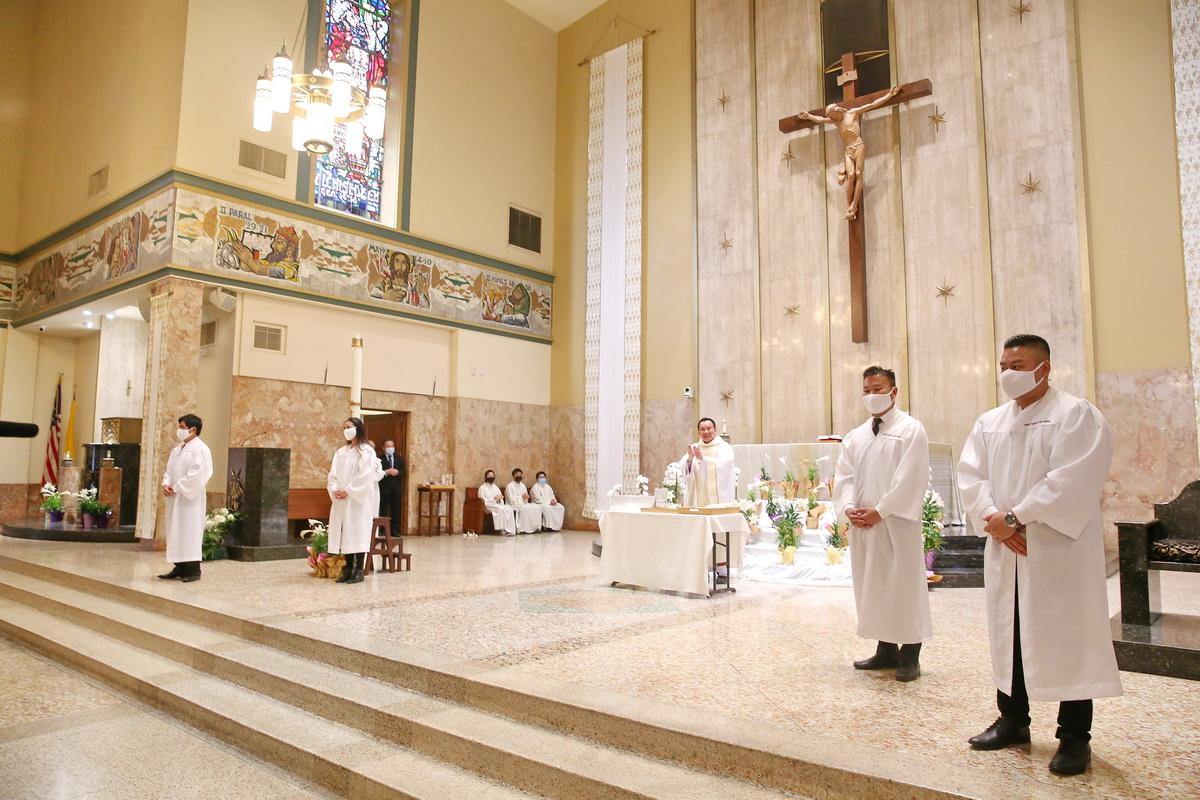 Nghi Thức Thánh Tẩy và Thêm Sức Khóa Giáo Lý Tân Tòng 2020-21